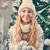 Frau · halten · Spielerei · lächelnd · Erwachsenen · ein - stock foto © dashapetrenko