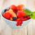 delicioso · frescos · frutas · servido · tazón · madera - foto stock © dashapetrenko