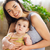 mother with eight month old baby girl indoor stock photo © dashapetrenko