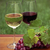 one glass of white wine and red wine stock photo © dashapetrenko