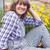 jardinage · été · femme · herbes · heureux · différent - photo stock © dashapetrenko
