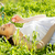 妊婦 · 母親 · 腹 · リラックス · 公園 · ヨガ - ストックフォト © dashapetrenko