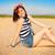 portrait · belle · jeune · femme · mer · femme - photo stock © dashapetrenko