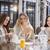 trzy · młodych · kobiet · pitnej · herbaty · spa · resort - zdjęcia stock © dashapetrenko