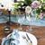rosa · flores · brancas · velas · tabela · casamento · decoração - foto stock © dashapetrenko