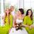 bruid · weinig · bruidsmeisje · poseren · romantische · witte - stockfoto © dashapetrenko