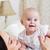 幸せ · 笑みを浮かべて · 母親 · 6 · 月 · 古い - ストックフォト © dashapetrenko