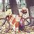 rowerów · kwiaty · czerwony · vintage · rower · koszyka - zdjęcia stock © dashapetrenko