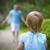 gyerek · fut · vidék · derűs · imádnivaló · szőke · nő - stock fotó © dashapetrenko