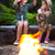 marshmallow · fogueira · comida · madeira · noite · quente - foto stock © dashapetrenko
