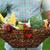 basket filled fresh vegetables in hands of a man stock photo © dashapetrenko