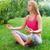 yoga · parco · giovani · femminile · persona - foto d'archivio © dashapetrenko