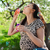 jonge · vrouw · ontspannen · bloesem · boom · voorjaar - stockfoto © dashapetrenko