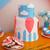 fête · d'anniversaire · table · alimentaire · anniversaire · verre · bougies - photo stock © dashapetrenko