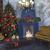 Weihnachten · dekoriert · Kamin · Baum · Zimmer · Loft - stock foto © dashapetrenko