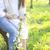 picknick · romantische · paar · voorjaar · natuur - stockfoto © dashapetrenko