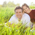 jeunes · heureux · couple · amour · printemps · jour - photo stock © dashapetrenko