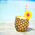 exotique · ananas · cocktail · piscine · pina · colada · soleil - photo stock © dashapetrenko