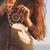 bruna · donna · capelli · lunghi · sogno · donne - foto d'archivio © dashapetrenko