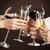 brindis · beber · champán · alcohol · caucásico - foto stock © dashapetrenko