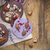 chocolate cookies with nuts and lavender stock photo © dashapetrenko