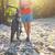 moço · bicicleta · montanha · rio · homem - foto stock © dashapetrenko
