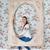retrato · feliz · grande · menina · isolado · branco - foto stock © dashapetrenko