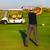 giovane · giocare · golf · club · relax - foto d'archivio © dashapetrenko