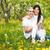 アジア · 女性 · 桜 · ツリー · 頭 · 肩 - ストックフォト © dashapetrenko