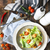 cocina · pan · cena · almuerzo · sopa · frescos - foto stock © dashapetrenko