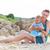 матери · пляж · лет · женщину - Сток-фото © dashapetrenko