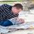 пляж · мальчика · играет · песок · природы - Сток-фото © dashapetrenko