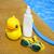 gumi · kacsa · citromsárga · ikon · illusztráció · víz - stock fotó © dashapetrenko