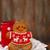 Noel · hediye · sıcak · çikolata · kurabiye · üst · görmek - stok fotoğraf © dashapetrenko