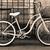 vintage bicycle with basket stock photo © dashapetrenko