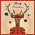 hipster deer with hat and christmas balls stock photo © dashikka