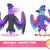 set of two big monsters bird with huge beak and wings evil or neutral or positive characters suit stock photo © dashikka