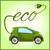reciclável · carro · bateria · assinar · verde · isolado - foto stock © dashikka