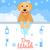 kutya · mos · mosás · fürdőkád · víz · egészség - stock fotó © Dashikka