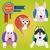 Set of different dog breeds. stock photo © Dashikka