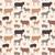 パターン · デザイン · 漫画 · 家畜 · 実例 · 装飾的な - ストックフォト © dashikka