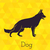 karikatür · köpek · siluet · toplama · dizayn · sanat - stok fotoğraf © dashikka