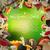 pulsante · funghi · illustrazione · gruppo · intatto · riposo - foto d'archivio © dashikka