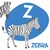 funny cartoon animals vector alphabet letter set for kids z is zebra stock photo © dashikka