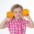 Nice · девочку · фрукты · довольно · ребенка · стороны - Сток-фото © dave_pot