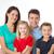 closeup of family on white background stock photo © Dave_pot