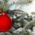bright red christmas bauble on tree stock photo © david010167