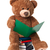 reading bear with clipping path stock photo © david010167