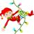 vicces · mikulás · karácsony · fények · vektor · mikulás - stock fotó © dazdraperma