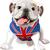 Englisch · Bulldogge · Illustration · isoliert · weiß · Hund - stock foto © dazdraperma